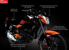 Moto Motor 1 Fx250 Año 2016 Negro - Rojo