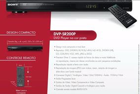 Dvd Player Sony Dvp-sr200p - Frete Grátis