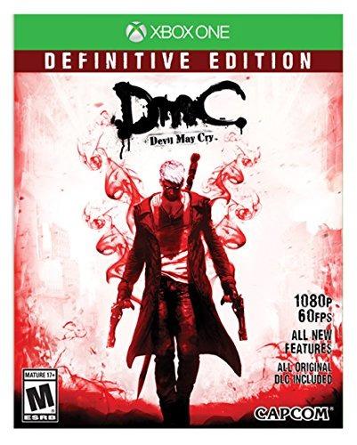 Dmc Devil May Cry Xbox One Mídia Física Lacrado