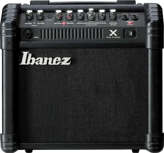 Amplificador Ibanez 15w Con Reverb Para Guitarra Tbx-15r Env