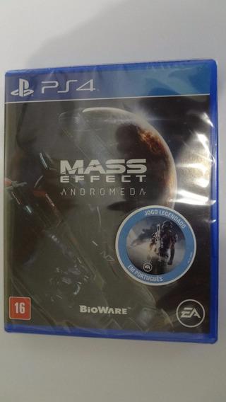 Mass Effect Andromeda Ps4 - Mídia Física - Novo E Lacrado