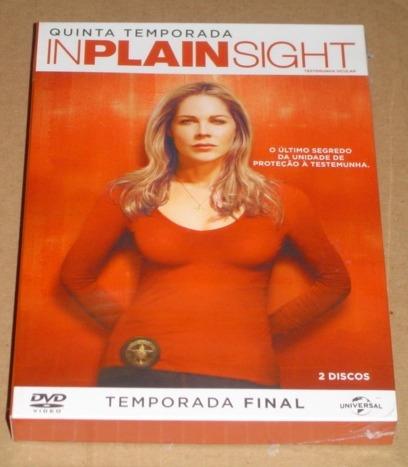 Inplainsight Testemunha Ocular 5º Temporada 2 Dvd Novo