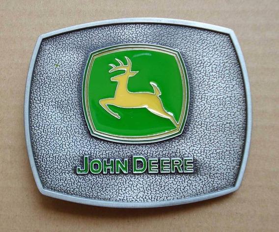 Fivela John Deere Trator Tipo Cinto