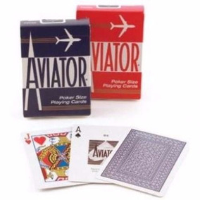 Kit 2 Baralhos Aviator - Produto Importado
