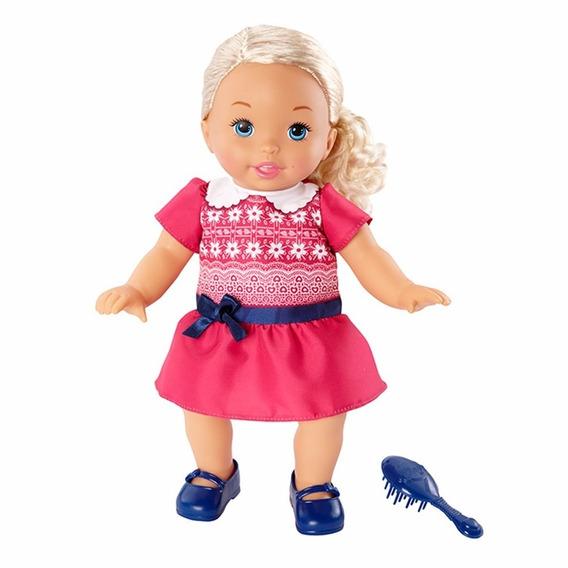 Boneca Little Mommy Doce Bebê Roupa De Passeio Mattel Dgr04