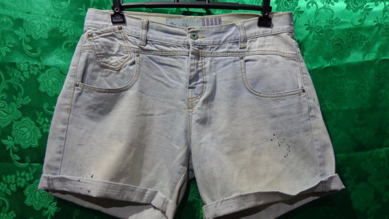 Shorts Feminino Jeans Marca Maria Filó Tm/ 44
