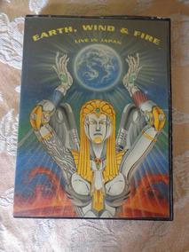 Dvd Earth Wind Fire - Live In Japan