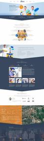 Site Empresarial Para Prestação De Serviços Em Wordpress