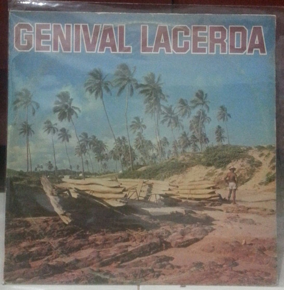 Lp - Genival Lacerda - Sebo Refugio Cultural