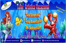 Taller Artístico Vacacional Para Niños Y Niñas 2016