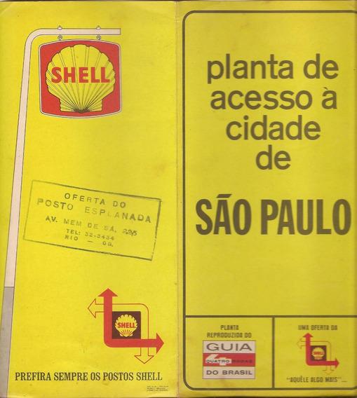 Shell Planta De Acesso A Cidade De São Paulo Shell