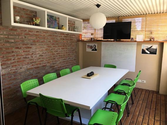 Sala De Reuniones/capacitación Por Hora - 12 Personas -núñez