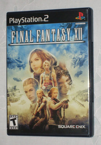 Final Fantasy Xii Ps2 Black Label Original Em Estado De Novo