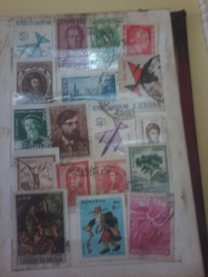 Coleccion Antigua De Estampillas De Varios Paises