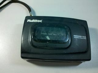 Gravador T. Cassete Player Multitoc Vac P/ Retirada De Peças