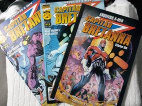 Arquivos X-men: Capitão Bretanha - Completa ! Excelente !