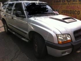 Blazer 2.4 2001 Pitbull Prata Gasolina