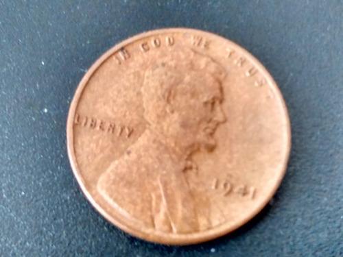 Moneda Estados Unidos 1cent Lincoln Wheat  1941 (737z