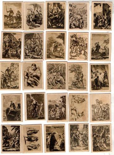 24 Figuritas Thomas - Barcelona. Quixote (2do. Bloque)