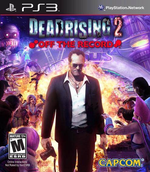 Dead Rising 2 Off Recording - Original - Ps3 - Psn