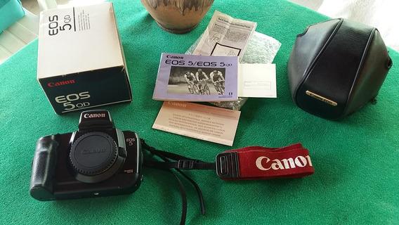 Camera Analógica Canon Eos 5qd - Corpo