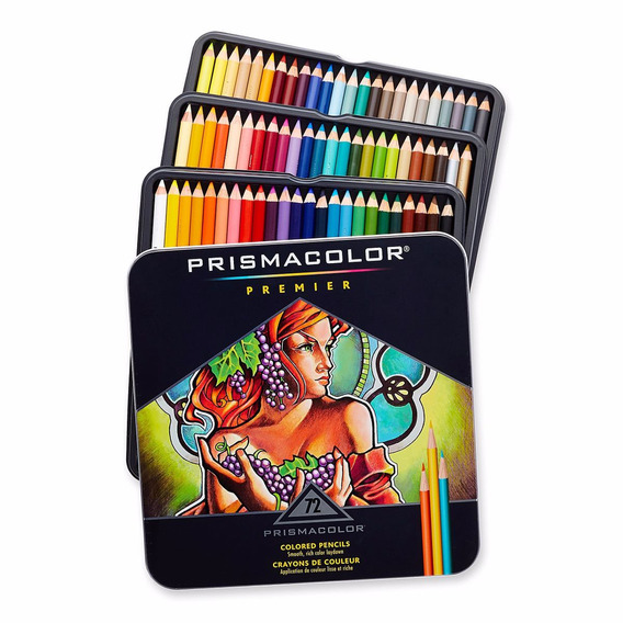 Colores 72 Prismacolor Premier Original
