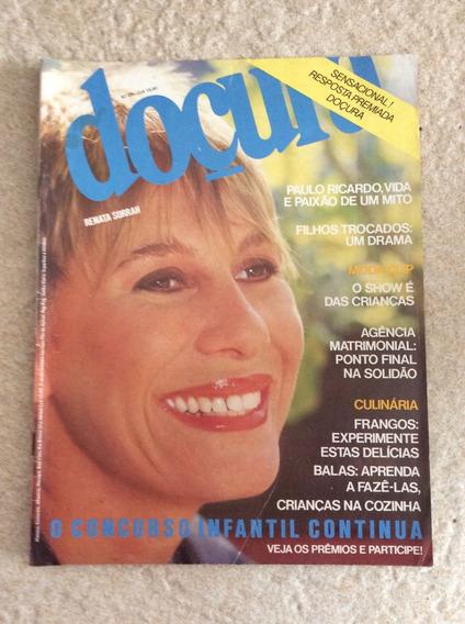 Revista Doçura 85 Renata Sorrah Paulo Ricardo Moda F834