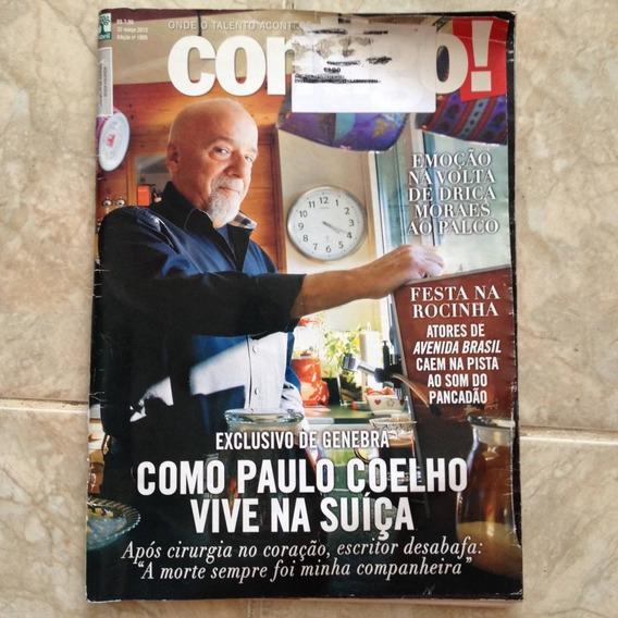 Revista Contigo 22/11/2012 1905 Paulo Coelho George Clooney
