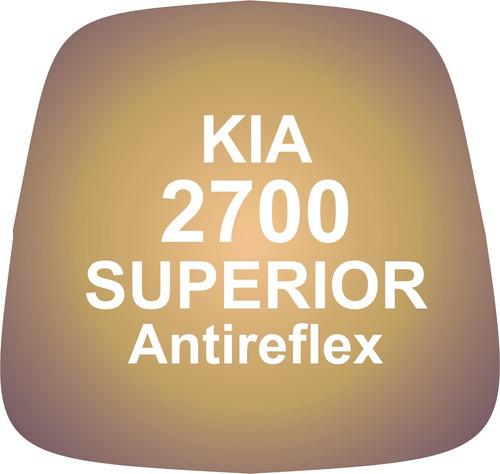 Vidrio Espejo Retrovisor Kia 2700 Superior Antireflex Convex