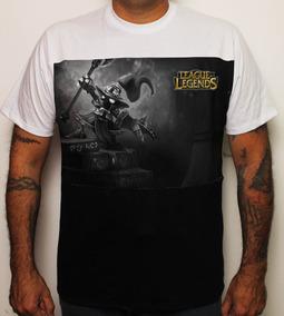 Camiseta Game League Of Legends Veigar Pb Lol 100% Algodão