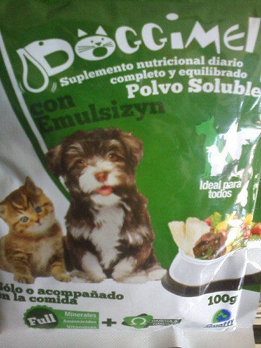 Leche Mascotas Animales Cachorros 100 Gramos Doggimel