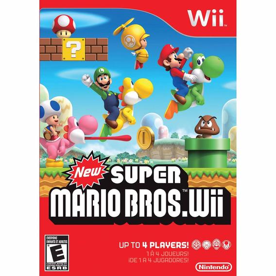 New Super Mario Bros Mídia Física Lacrado Wii