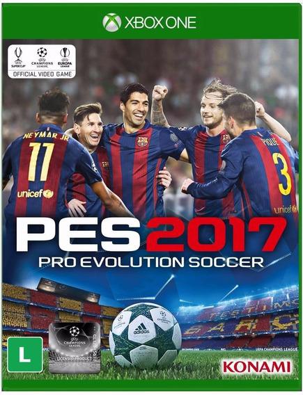 Pro Evolution 2017 Pes17 100% Português Mídiafísica Xbox One