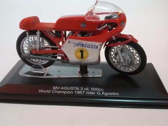 Moto De Competicion A Escala Agusta 3 Cil. 50 Cc W Ch 1967