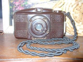 Antigua Maquina De Fotos En Baquelita Marca Gevaert