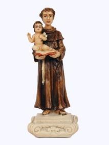 Imagem Santo Antonio 15cm Em Resina