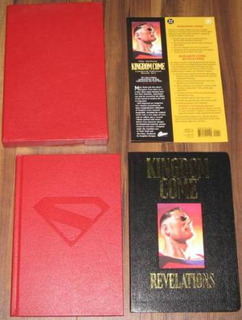 Kingdom Come Hardcover Signed By Mark Waid & Alex Ross