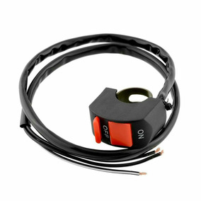 Tecla On/off Interruptor / Baliza P/manubrio Moto Cuatri