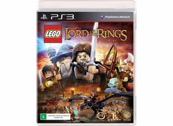 Jogo Semi Novo Lego O Senhor Dos Anéis Playstation Ps3 Wb