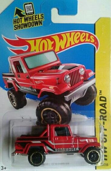 Carro Hot Wheels Jeep Scrambler Escala 1/64