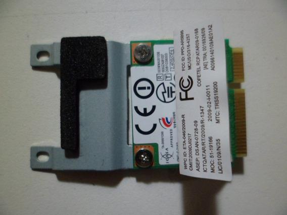Placa Wireless Wifi Para Notebook Lenovo G555 / Da104328