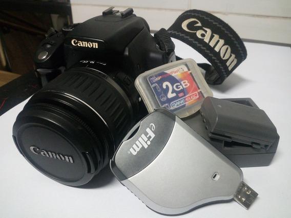 Câmera Canon Eos Digital Xt Completa