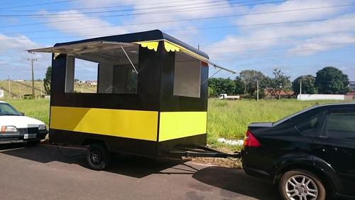 Imagem 1 de 14 de Trailer Lanche Food Truck Direto Da Fabrica
