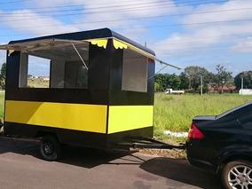Trailer Lanche Food Truck Direto Da Fabrica
