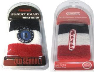 Muñequera Reloj Oficial Nintendo Tricolor-roja Envio Gratis