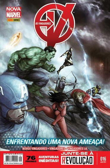Os Vingadores 16 Nova Marvel - Panini - Bonellihq Cx98 H19