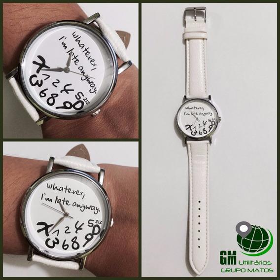 Relógio Feminino Fashion Leather