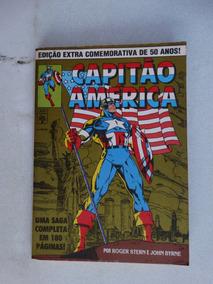 Capitão América Ed. Extra Comemorativa 50 Anos! Ago 1991!