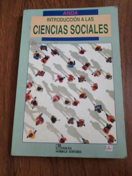 Introducción A Las Ciencias Sociales - Anda