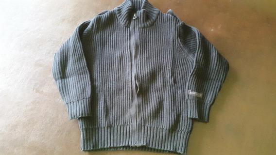Sweater Lana Varon 2/3 Años. Marca Zara. Negro. Con Cierre.